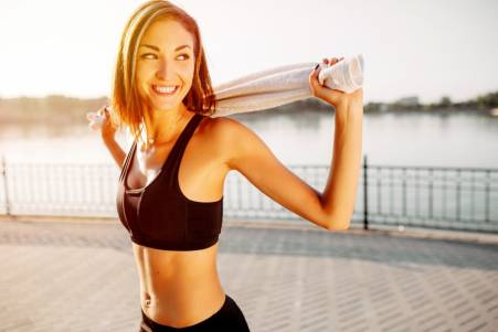 Lose weight to feel happy