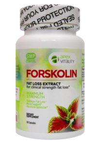 Forskolin Clinical Strength Fat Loss Bottle